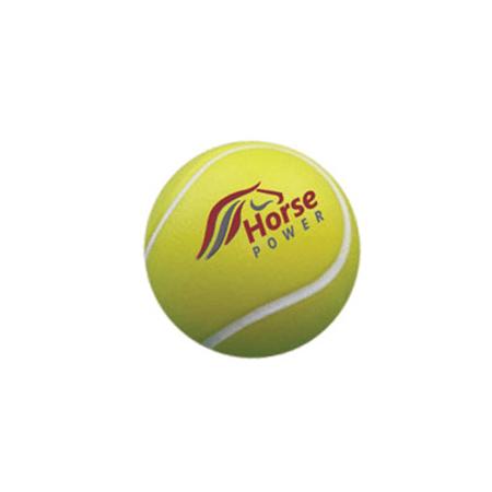 Anti stress balle de tennis publicitaire personnalis - Objet anti stress bureau ...