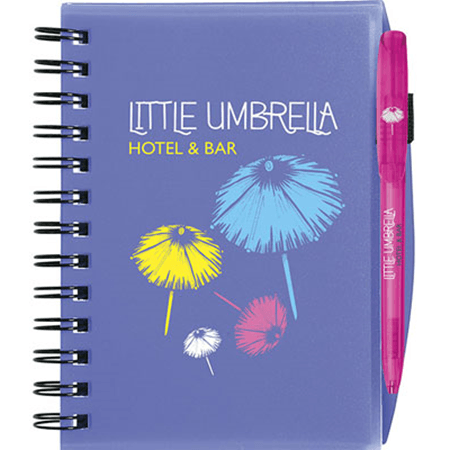 Bic® notebooks plastic cover fashion colours