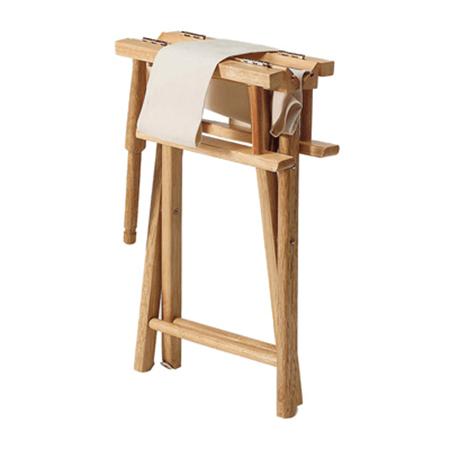 Chaise metteur en scene blanche ad0043 anatum entreprises Chaise metteur en scene