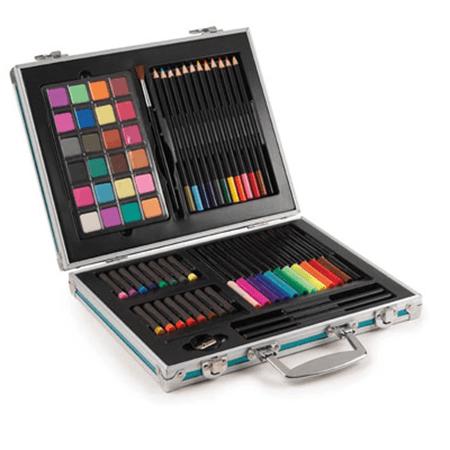 malette coloriage 70 pces violet publicitaire personnalis. Black Bedroom Furniture Sets. Home Design Ideas