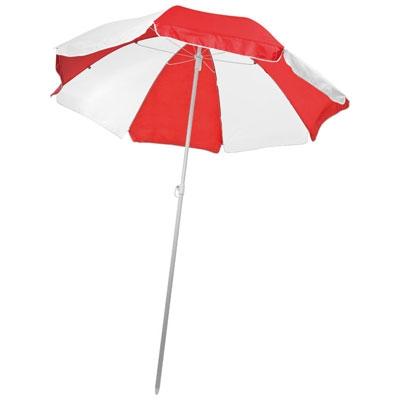 Parasol bicolore publicitaire publicitaire personnalis - Dessin parasol ...