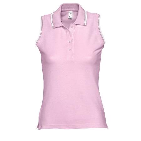 polo golf personnalis femme sans manches princess publicitaire personnalis. Black Bedroom Furniture Sets. Home Design Ideas