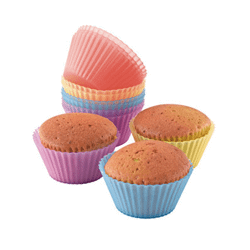 12 moules silicone à Cup Cake Kitchen Artist