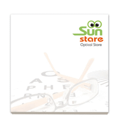 Bic® 75 mm x 75 mm 50 sheet adhesive notepads