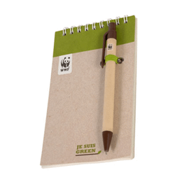 Bloc-notes et stylo 150x90mm