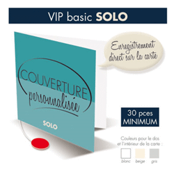 Carte vocale - vip basic solo