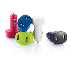 Chargeur voiture usb a double sortie