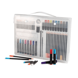 E-color 60 crayons de cire