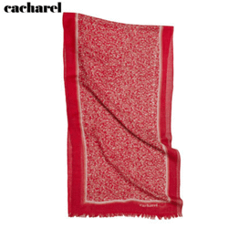 Echarpe laine giverny red