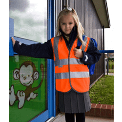 Gilet junior hi-vis