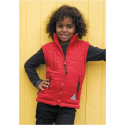 Junior pineto bodywarmer microfibre double polaire