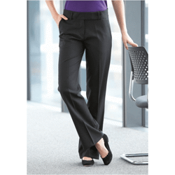 Ladies' bootleg trousers pantalon femme bootleg