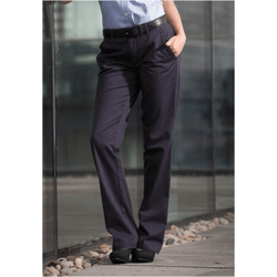 Ladies chino trousers pantalon femme avec traiteme