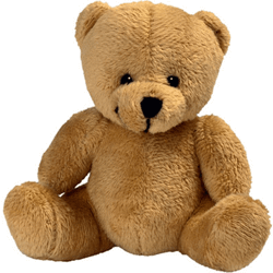 Peluche ours assis 9cm