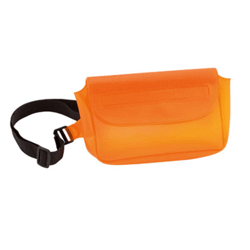 Sac banane orange en pvc