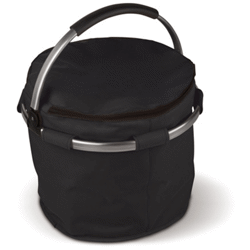Sac isotherme rond pliable