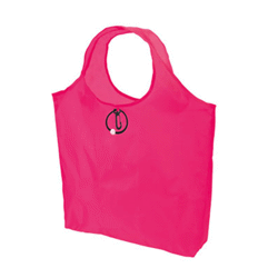 Sac shopping fluo en polyester