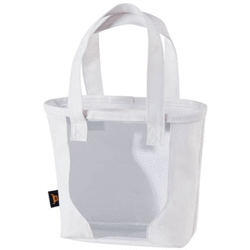 Sac shopping poche transparente