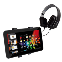 "Set voyage polaroid (tablette 9"" + casque + support voiture)"
