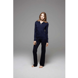 Stretch french terry loungetrouser pantalon french